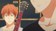 Mafuyu listening to the conversation (107)