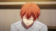Mafuyu asleep at band practise (22)