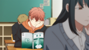 Mafuyu asleep in the classroom (51)