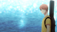 Mafuyu walking by the shore Ep6