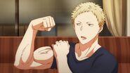 Akihiko's muscles