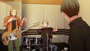 Akihiko and Haruki pointing at Ritsuka to top it off