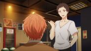 Tsubaki willing to show Mafuyu around