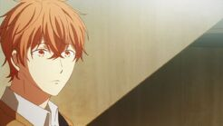 Mafuyu thinking if he has a song
