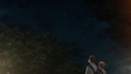 Ritsuka & Mafuyu talking looking up the stars (66)