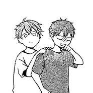 Mafuyu with Ritsuka Manga