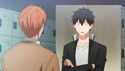 Ritsuka staring blankly at Mafuyu