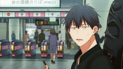 Ritsuka lost as to where Mafuyu is