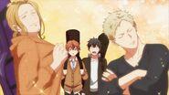 Akihiko and Haruki full of pride