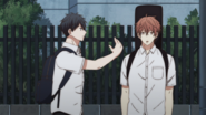 Ritsuka making contact with Mafuyu (8)
