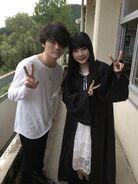 Atsushi y una fan