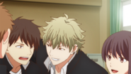Yuki grabbing around his class mate (49)