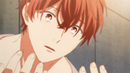 Mafuyu looking at his tears on his hands (47)