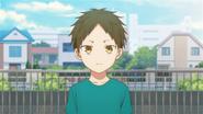 Hiiragi waiting outside (38)