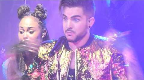 Adam Lambert - Lay Me Down, Shady, Fever - Sydney 2, 31 Jan 2016