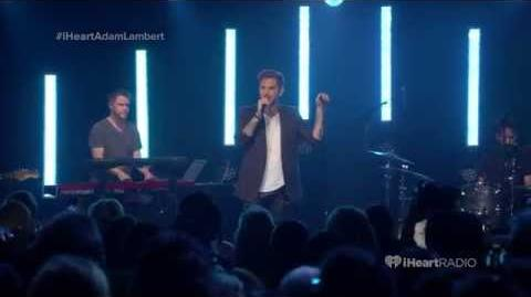Adam Lambert - Evil In The Night - Live iHeartRadio