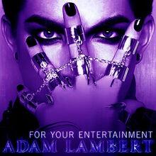 +Adam Lambert For Your Entertainment single photo purple.jpg