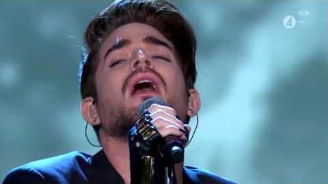 Adam Lambert Another Lonely Night Sweden Idol 1080 HD