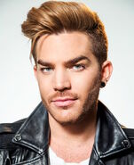 Adam Lambert natural hair