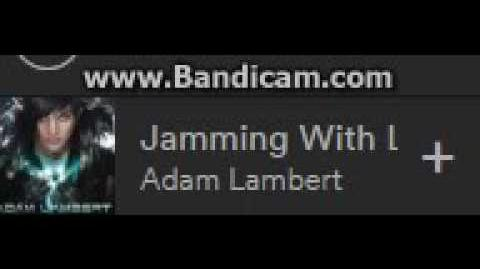 Adam Lambert - Jamming with Lazers - Glam Nation Tour