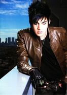 Adam Lambert Rock Magazine