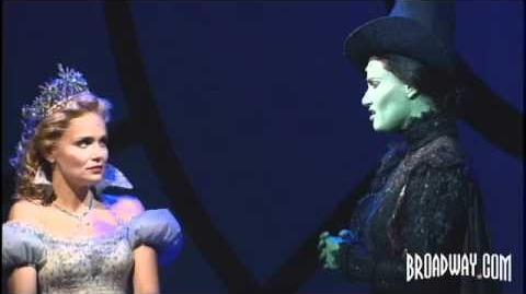 """""""Wicked"""" Original Broadway Cast - Idina Menzel & Kristin Chenoweth Sing """"For Good"""""""