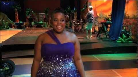 GLEE_-_A_Moment_Of_Glee_Amber_Riley_on_Her_High_School_Prom