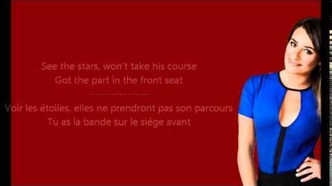 Glee_-_Pumpin'_blood_Paroles_&_Traduction