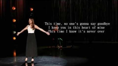 Glee - This Time (Lyrics)