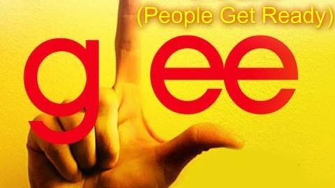 One Love (People Get Ready) - Glee Cast Version - Season 2 (Lyrics)
