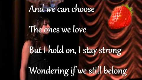 Glee_cast_Pretending_lyrics_paroles