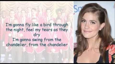 Glee Chandelier lyrics