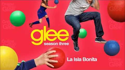 Glee - La Isla Bonita audio
