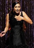 Santana Lopez (Naya Rivera) singing