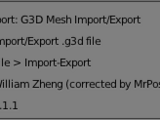 G3D support