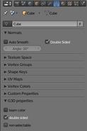 G3D support Blender panel