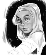 Zahra Sketch by Sara Verallo (Magedon)
