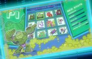 Character Select Screen of Garbile Game