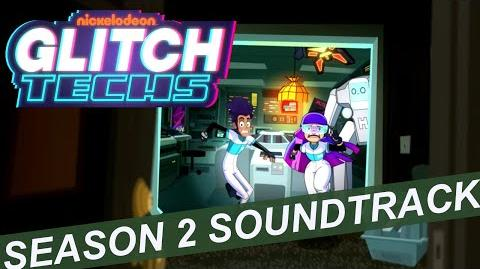 """Glitch Techs Season 2 OST - """"Unauthorized Personnel Detected"""" by Brad Breeck"""