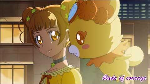 (HD) Glitter Force Doki Doki〡Episode 3- And Clara Makes Three〡Glitter Clover's Transformation