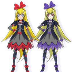 Glitter Force Doki Doki villains