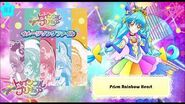 Prism Rainbow Heart