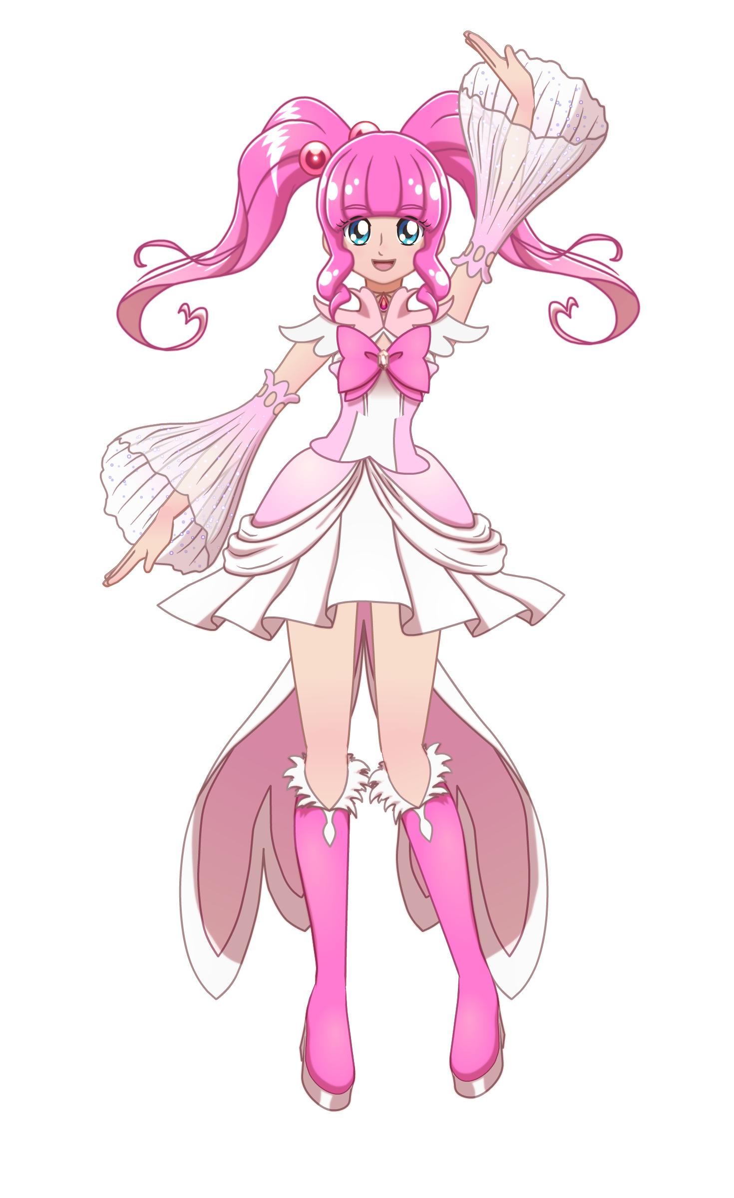 Iris Amore Glitter Force Pink Persona Glitter Force Fanon Wiki Fandom