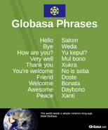 Globasa phrases