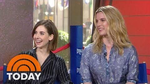 Alison Brie, Betty Gilpin We Trained For A Month With A Pro-Wrestler For 'GLOW' TODAY