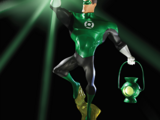 Green Lantern: The Animated Series maquettes