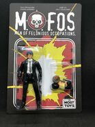 MOFOs Black Suit AFOTM Carded The Most Toys exclusive