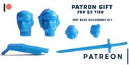 Patreon Blue copy Hot Blue New Accessory Kit