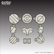 Axis-Joint-Set-Proturrec-Light-Bone-Gray