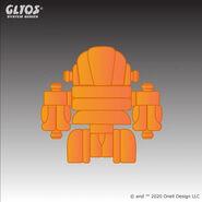 Hub-Set-Hyper-Pyros-Clear-Orange